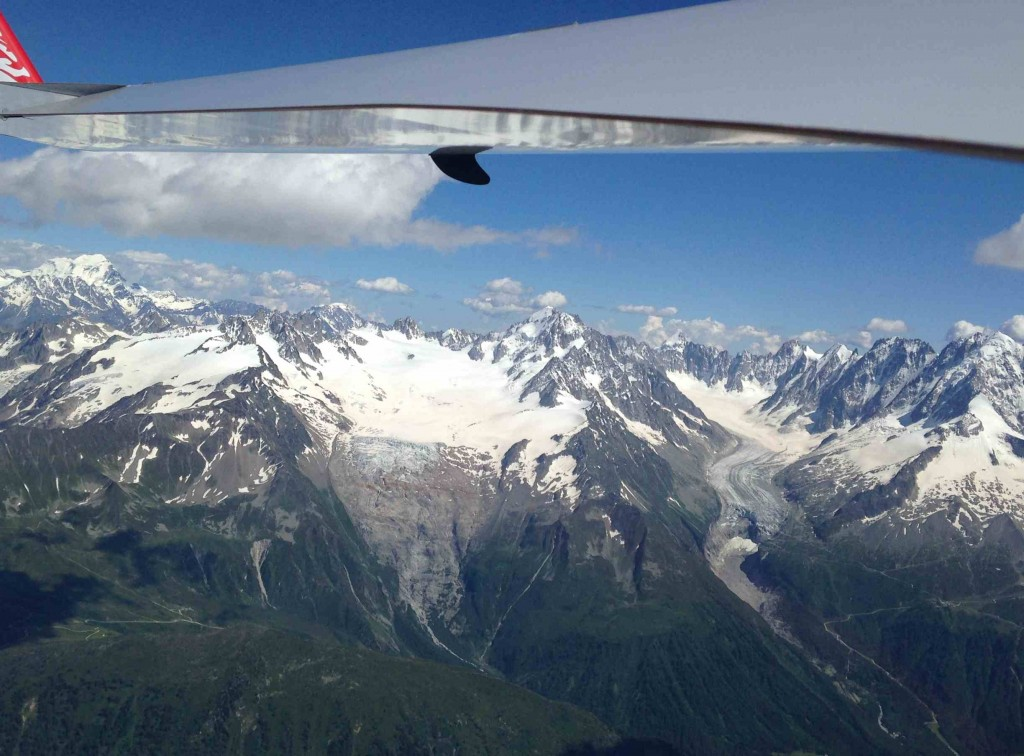 Glacier d'Argentière et du Tour